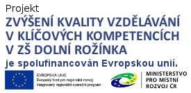 IROP projekt ZŠ Dolní Rožínka